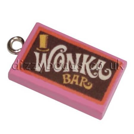 Fimo Wonka Bar Charms