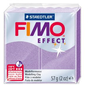 fimo effect 56g lilac pearl