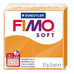 fimo soft 56g sunny orange